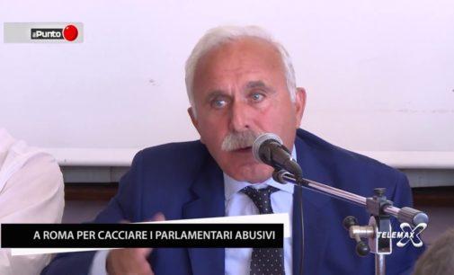 """<div class=""""dashicons dashicons-video-alt3""""></div>Pappalardo: a Roma l'11 settembre per cacciare gli abusivi dal Parlamento"""
