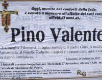 Pino Valente non ce l'ha fatta, l'ex vice sindaco di Lanciano è morto all'ospedale di Chieti