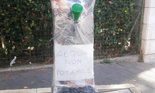 """<div class=""""dashicons dashicons-camera""""></div>Fontanelle con acqua non potabile a Pescara, perché?"""