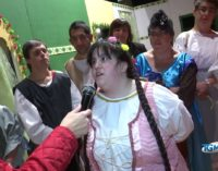 """<div class=""""dashicons dashicons-video-alt3""""></div>Gli attori dell'Anffas in Romeo e Giulietta al teatro Fenaroli di Lanciano"""