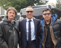 """<div class=""""dashicons dashicons-camera""""></div>Giorgio Tirabassi in Abruzzo per girare scene del suo film Il grande salto"""