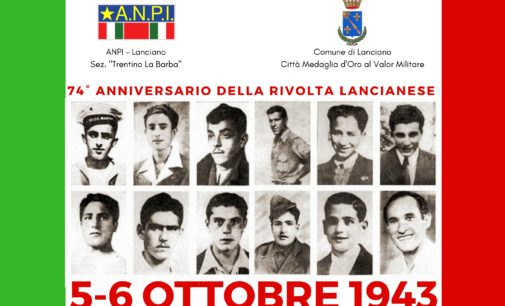 """<div class=""""dashicons dashicons-camera""""></div>La memoria della rivolta lancianese nella manifestazione del 5 e 6 ottobre"""