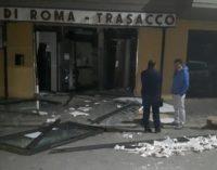 """<div class=""""dashicons dashicons-camera""""></div>Assalto al bancomat a Trasacco ma i ladri abbandonano il bottino e fuggono"""