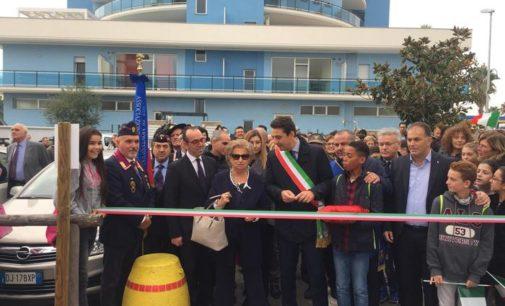 """<div class=""""dashicons dashicons-camera""""></div>Montesilvano dedica un parco a Giovanni e Francesca Falcone"""