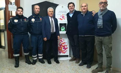 Vasto: in municipio e alla protezione civile i due defibrillatori in memoria di Roberta Smargiassi