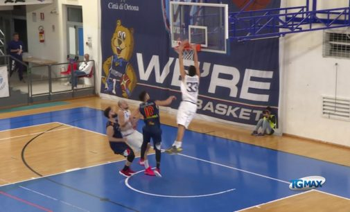 """<div class=""""dashicons dashicons-video-alt3""""></div>Basket: prima sconfitta della We're al Palamellilla contro Giulianova 78-86"""