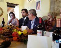 """<div class=""""dashicons dashicons-video-alt3""""></div>Borgo rurale con vino novello, olio nuovo e castagne a Treglio"""