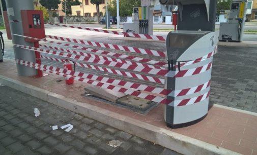 Assalto con escavatore a impianto carburanti di Brecciarola