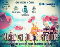 San Vito Chietino celebra l'infanzia con la marcia dei colori