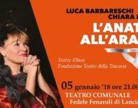 Lanciano, a teatro con Luca Barbareschi e Chiara Noschese