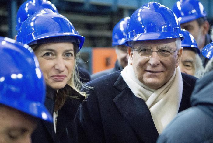 Mattarella visita i Laboratori del Gran Sasso: