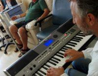 Vasto: arte e musica all'Oncologia durante la chemioterapia