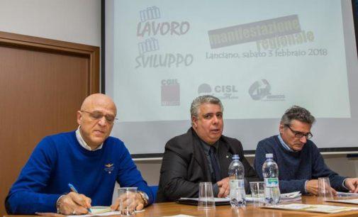 Crisi, sindacati manifestano a Lanciano il 3 febbraio