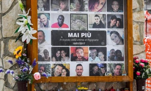 Rigopiano, tre anni fa la tragedia con 29 vittime