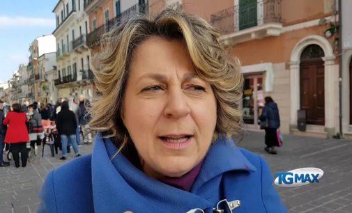 Cristiana Canosa presenta la sua candidatura al Senato con il PD