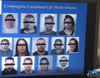 Droga: 13 arresti per spaccio tra Montesilvano e Pescara
