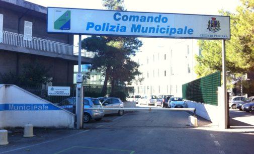 Pescara, tre vigili urbani simbolo della legalità