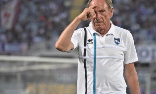 Pescara: Sebastiani esonera Zeman