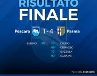 Serie B: Pescara – Parma 1-4