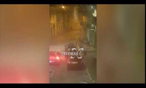 Assalto con esplosivo al bancomat a San Vito Chietino: VIDEO con i ladri mentre fuggono