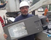 Lanciano: via le vecchie lampade, arriva l'illuminazione pubblica a led