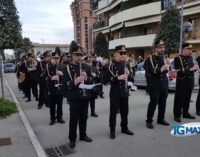Settimana Santa, la banda esegue le musiche sacre di Masciangelo e Ravazzoni