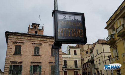 Ztl, pannelli luminosi in funzione a Lanciano