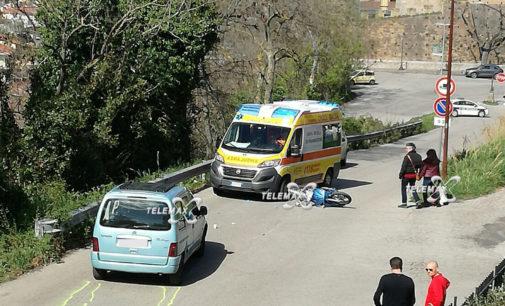Lanciano: incidente all'incrocio di via Belvedere, due ragazze in ospedale