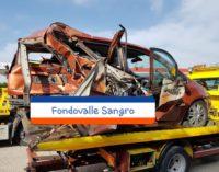 Incidente stradale sulla Fondovalle Sangro, tre feriti