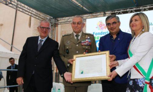 Fonderia: encomio al generale Graziano per gli interventi in Abruzzo