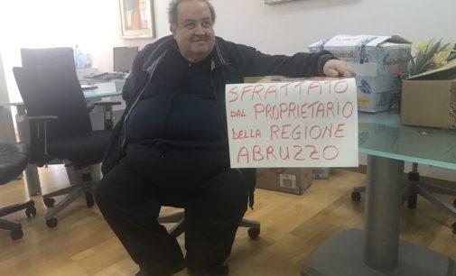 """Assessore dimissionario Di Matteo, """"io sfrattato dal proprietario della Regione D'Alfonso"""""""