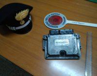 Ruba auto a Fossacesia ma i carabinieri lo arrestano