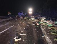 Vasto: incidente in A14, muore autotrasportatore greco