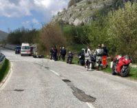Lavori su strade Sannite e Marsicana, chiuse alle moto dopo l'incidente mortale di Barrea