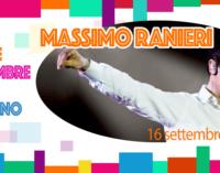 Massimo Ranieri a Lanciano per il concerto in piazza del 16 settembre