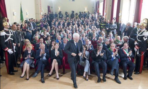 Casoli, il discorso del Presidente della Repubblica Sergio Mattarella al 73° anniversario della Liberazione