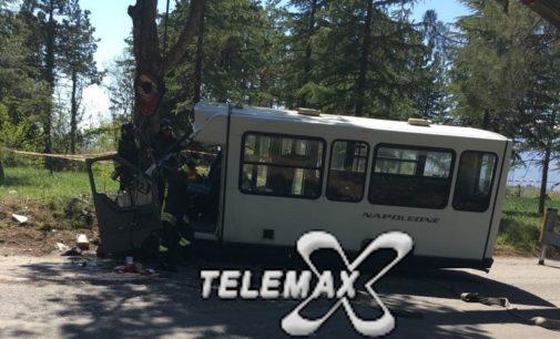 Orsogna: si ribalta col minibus e muore sulla provinciale Marrucina