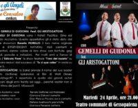 Beneficenza con Musicabaret a Gessopalena martedì 24 aprile