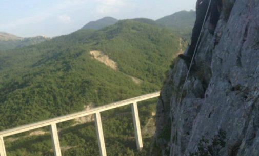 Villa Santa Maria inaugura la parete rocciosa per arrampicata