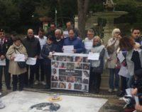 Chieti: flash mob per commemorare Dino Di Michelangelo, vittima a Rigopiano
