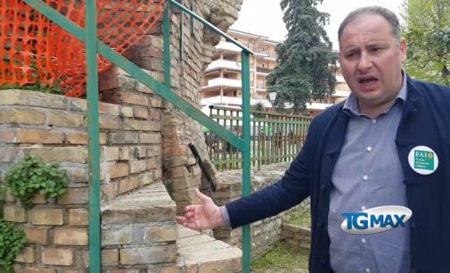 Lanciano: il Fai riapre il Torrione Aragonese e mostra gli scavi delle mura