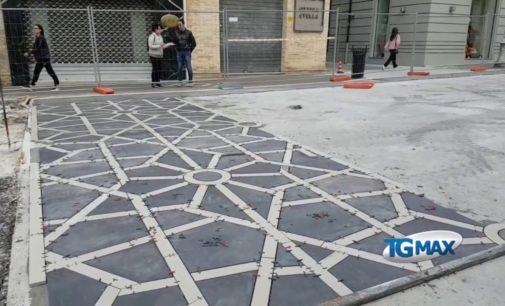 Lanciano: prende forma il disegno della presentosa al Corso