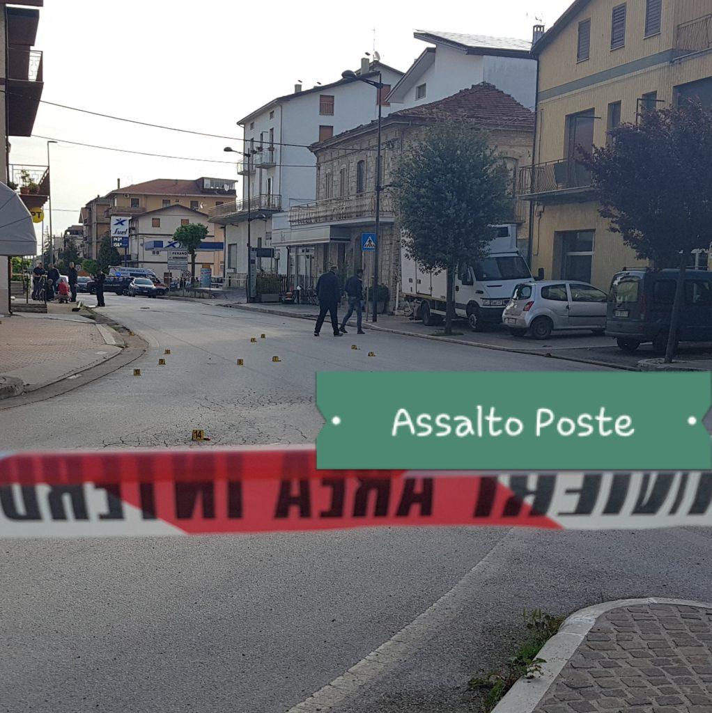 5d74e47336 Assalto alle poste di Piane d'Archi: 5 arresti con sparatoria, coinvolti 4  giovani di Selva di Altino illesi