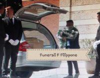 Funerali con sorella, padre e amici di sempre per Fausto Filippone