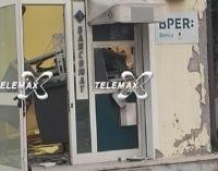 Assalto al bancomat di Mozzagrogna: hanno agito in 4 alle 3 di notte, bottino 30 mila euro