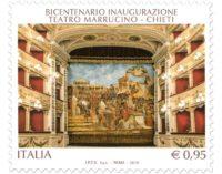 Chieti: emesso oggi il francobollo per il bicentenario del teatro Marrucino