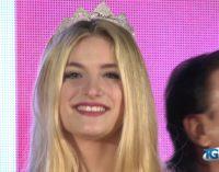 Al via le selezioni per Miss Italia Abruzzo, Claudia Motta è la prima eletta ad Atessa