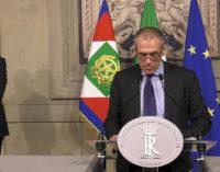 Carlo Cottarelli formerà il nuovo governo con un programma che porti il Paese a nuove elezioni