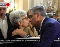 Chieti tributa l'ultimo saluto a Giovanni Pace, i funerali nella cattedrale di San Giustino