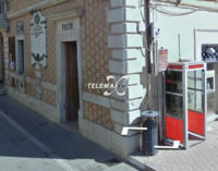 Bomba: rapina a mano armata all'ufficio postale, bottino circa mille euro